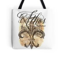 Athos - King's Musketeer grunge style Tote Bag