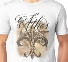Athos - King's Musketeer grunge style Unisex T-Shirt