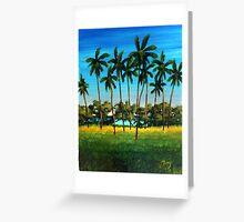 Tres Palmas, Rincon, Puerto Rico Greeting Card