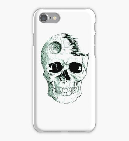 Imperial Death Star Skull iPhone Case/Skin