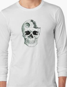 Imperial Death Star Skull Long Sleeve T-Shirt