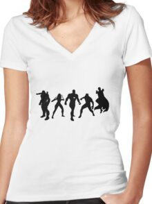 Team Tony Women's Fitted V-Neck T-Shirt