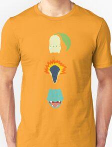Minimalist Johto Trio Unisex T-Shirt