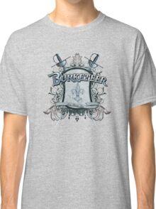 Official Burketeer Logo Badge Blue Classic T-Shirt