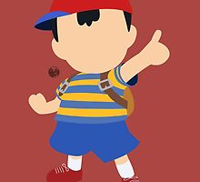 Ness - Super Smash Bros. by samaran