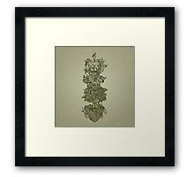 Nature Conquers All Framed Print