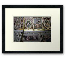 ceiling - italy Framed Print