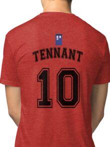 MY Doctor is David Tennant Tri-blend T-Shirt