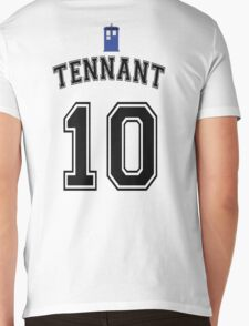 MY Doctor is David Tennant Mens V-Neck T-Shirt