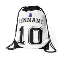 MY Doctor is David Tennant Drawstring Bag