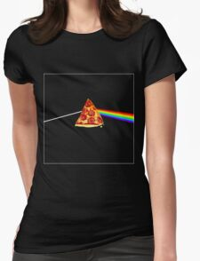 Pizza Floyd Womens Fitted T-Shirt