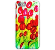 Just Tulips iPhone Case/Skin