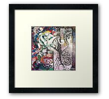 Sur Ma Voie 3  (On my way) Framed Print