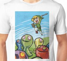 Link versus the ChuChus Unisex T-Shirt