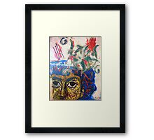 Sur Ma Voie 6  (On my way) Framed Print