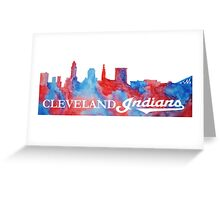 Cleveland Indians! Greeting Card