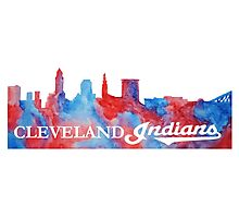 Cleveland Indians! Photographic Print