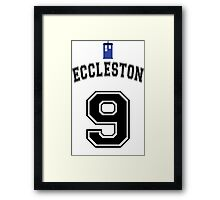 MY Doctor is Christopher Eccleston Framed Print