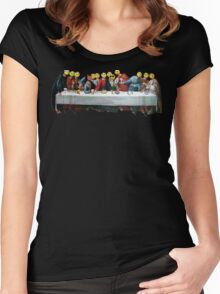 Last Supper Women's Fitted Scoop T-Shirt