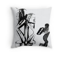 ...but I love you... Throw Pillow