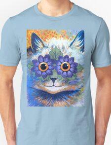 Flower Power Cat T Shirt Unisex T-Shirt