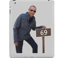 Obama 69 iPad Case/Skin