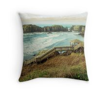 Ocean Lookout Throw Pillow