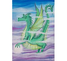 dragon in the mist Photographic Print