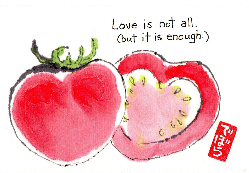 Tomato Hearts 1 by dosankodebbie