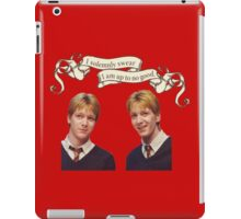 Weasley Twins iPad Case/Skin