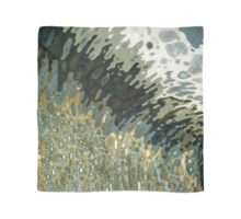 Bursting Waves in Gold & Brown Margaret Juul Scarf