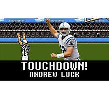 Tecmo Bowl Andrew Luck Photographic Print