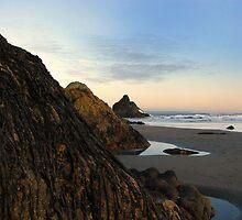 Sunset on the Beach by BPhotographer
