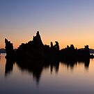 Mono Lake Silhouette by Anne McKinnell