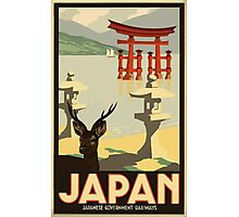 Vintage Travel Japan Poster Photographic Print