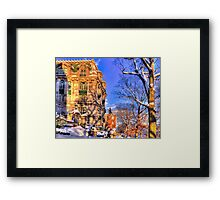 Just another winter day! Framed Print