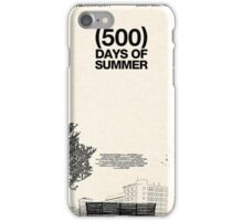 (500) Days of Summer iPhone Case/Skin