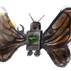 robot butterfly by max motmans