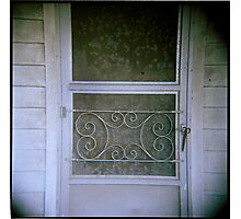 this is home - holga - residential findings Photographic Print
