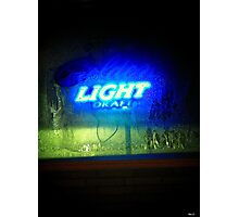 How About A Frosted Glass of Ice Cold Beer ! Photographic Print