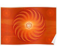 Sacral Chakra ~ Orange ~ Svadisthana ~ Male Poster