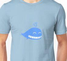 Cute Smiling Whale Unisex T-Shirt