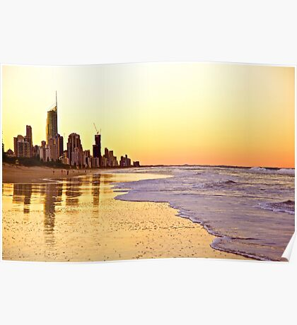 Surfers Paradise Poster