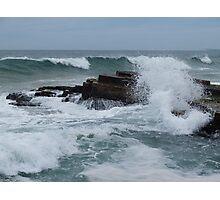 The cruel sea Photographic Print