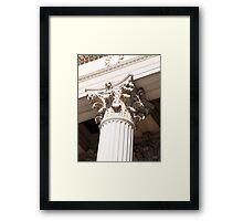 Rich Corinthian capitals Framed Print