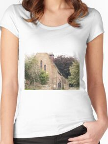 St. Andrews' Church, Tain, Scotland Women's Fitted Scoop T-Shirt