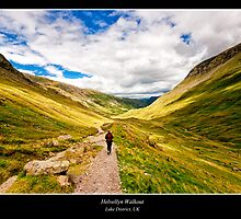 Helvellyn Trail by Richard Lam