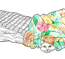 Sketch 2 ... hand-me-down duvet by littlearty