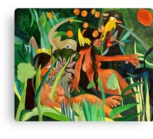 Homage to Rousseau Canvas Print