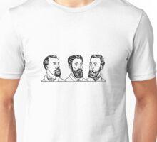 Vintage Men's Beards Unisex T-Shirt